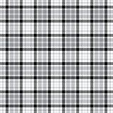 Nahtloses Vektormuster des Schottenstoffs Karierte Plaidbeschaffenheit Geometrischer quadratischer Hintergrund für Gewebe lizenzfreie abbildung