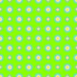Nahtloses vektormuster Hintergrund mit Elementen von Blumen Lizenzfreie Stockfotografie