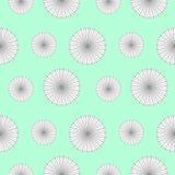 Nahtloses vektormuster Hintergrund mit Elementen von Blumen Stockbilder