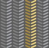 Nahtloses Vektorsparrenmuster Arbeiten Sie Zickzackmuster in den Retro- Farben, nahtlosen Vektorhintergrund um Stockbild