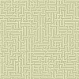 Nahtloses verwickeltes Labyrinth Stockbilder