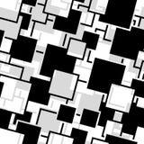 Nahtloses Vierecksmuster Stockbilder