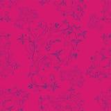 Nahtloses violettes Muster Lizenzfreies Stockbild