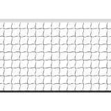Nahtloses Volleyballnetz stock abbildung