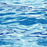 Nahtloses Wasser-Oberflächen-Muster lizenzfreie abbildung