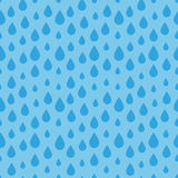 Nahtloses Wasser-Tropfen-Muster Lizenzfreie Stockbilder