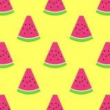 Nahtloses Wassermelonenmuster vektor abbildung