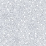 Nahtloses weißes Muster Stock Abbildung