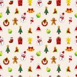 Nahtloses Weihnachtsmuster vektor abbildung