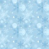 Nahtloses Weihnachtsmuster Stockfotografie