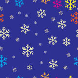 Nahtloses Weihnachtsmuster lizenzfreie abbildung