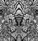 Nahtloses Weinlese-Tapeten-Muster Stockbild