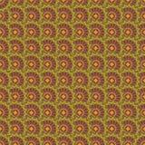 Nahtloses wiederholendes Blumenmuster Vektor Lizenzfreie Stockbilder