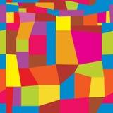 Nahtloses wiederholendes Muster ähnlich Stoffklappen Lizenzfreie Stockbilder
