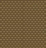 Nahtloses wiederholendes Muster von kleinen Stangen Vektor Stockfoto