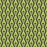 Nahtloses Zeichen-Muster Stockfotos