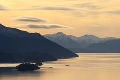 Nahuel Huapi Lake, Bariloche, Argentina Foto de Stock Royalty Free