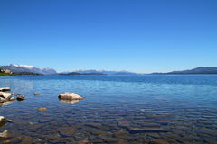 Nahuel Huapi Lake - Bariloche - l'Argentine Images stock