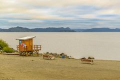 Nahuel Huapi Lake Landscape, Bariloche, la Argentina Imagen de archivo