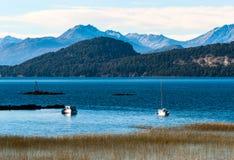 Nahuel Huapi lake, Patagonia Argentina Stock Photo
