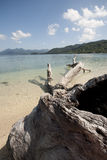 Nai человека Koh, необжитый остров, Trat, Таиланд Стоковое Фото
