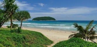 Nai Harn παραλία Phuket Στοκ φωτογραφία με δικαίωμα ελεύθερης χρήσης