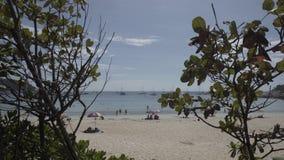 Nai harn beach phuket thailand thai asia blue sea summer vacations. Nai harn beach blue, nature, sea, sky, summer, vacation, beach, sand, coast island ocean stock footage
