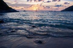 Nai Harn beach Stock Photos
