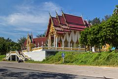The Nai Harn temple in Phuket island stock images