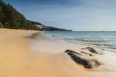 Nai Thon Beach Fotos de archivo libres de regalías