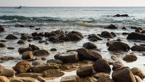 Nai Thon Beach Fotografía de archivo libre de regalías
