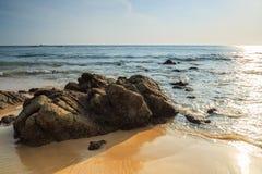 Nai Thon Beach Stock Image