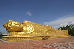 Nai Wat Yai в Hat Yai, Таиланде Стоковое фото RF