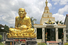 Nai Wat Yai в Hat Yai, Таиланде Стоковая Фотография RF