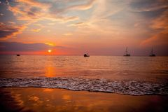 Nai Yang Beach Arkivbild