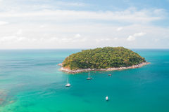 Nai Yang Beach in Phuket Stock Image