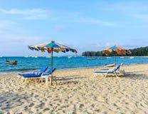 NAI YANG plaża Fotografia Stock