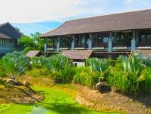 Nai Yang, Tailandia - 12 de febrero de 2010: El parque en el centro turístico Tailandia Foto de archivo