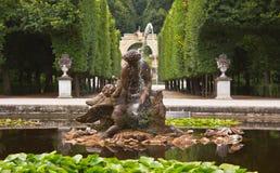 Naiad-Brunnen Stockbilder