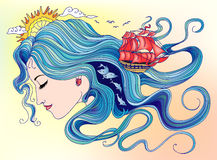 Naiad Royalty Free Stock Images