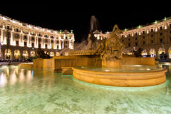 Naiadi fontanna zdjęcia stock