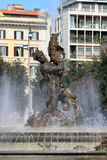 Naiads fountain in Rome Royalty Free Stock Photography