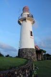 Naidi wzgórzy latarnia morska Basco, Batanes Obraz Stock