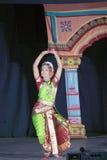 Naidu Sobha - танцор Kuchipudi Стоковые Фотографии RF