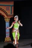 Naidu Sobha - танцор Kuchipudi Стоковые Фото