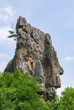Naigu Shilin limestone pinnacles Stone Forest - Yunnan Province - China royalty free stock image