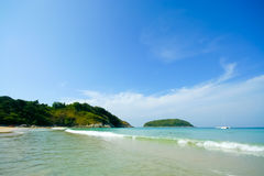 Naiharn beach Royalty Free Stock Photos
