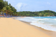 NaiHarn-strand phuket Royaltyfria Bilder