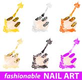 Nail art Royalty Free Stock Images