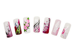Nail art Stock Images